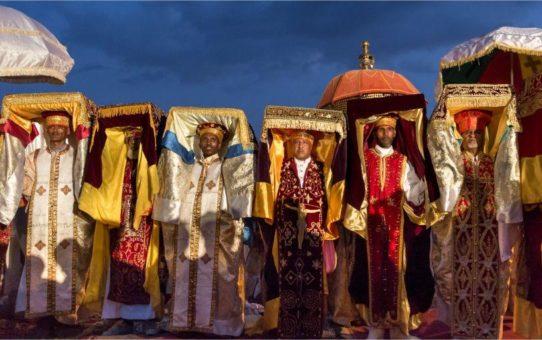 Праздник Тимкат в Эфиопии