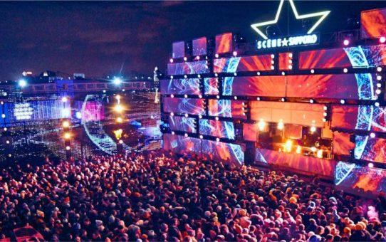Фестиваль электронной музыки Igloofest в Монреале