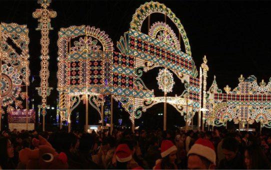 Фестиваль света «Люминари» в Кобе