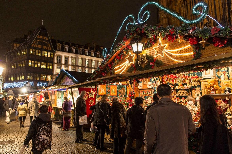 рождество во франции фото самые классические