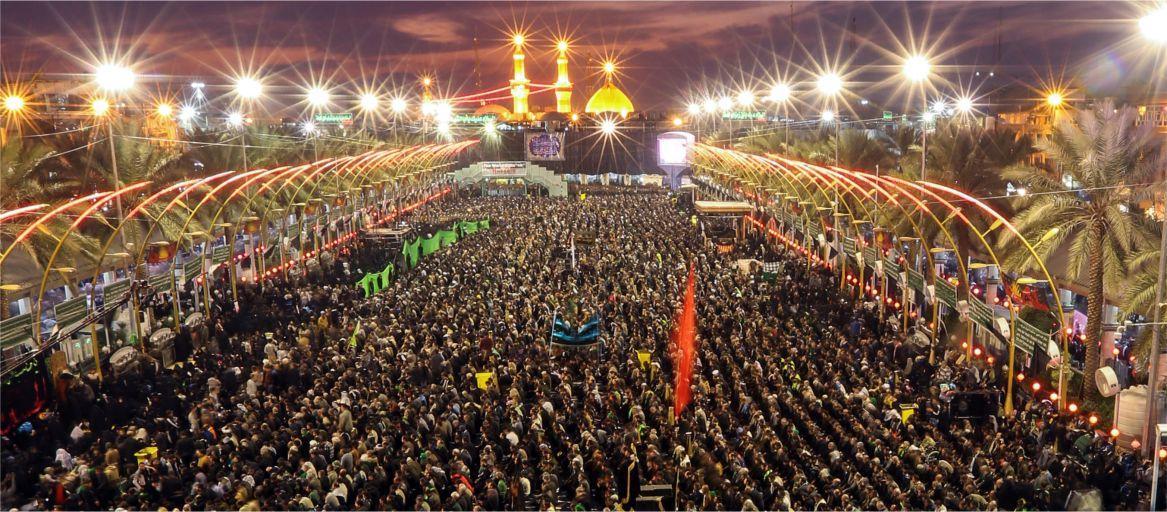 Иранский генерал обратился к собравшимся в Кербелу паломникам