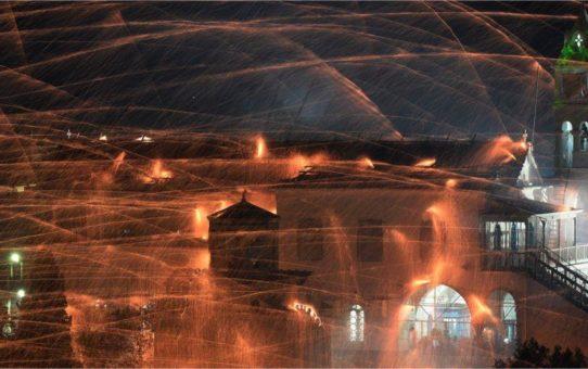 Фестиваль фейерверков «Рукетополемос» в Вронтадосе