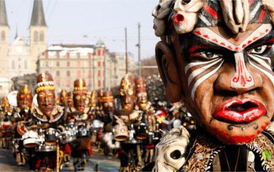 Карнавал «Фаснахт» в Люцерне