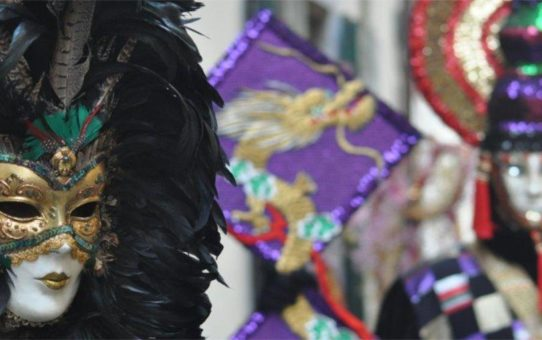 Карнавал «фильи ди бокко» в Ареццо