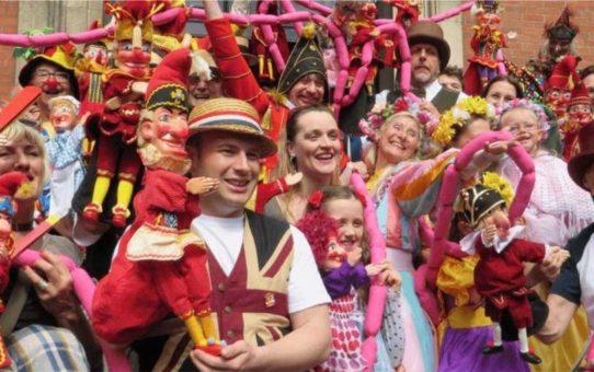 Фестиваль кукольных театров «Панч и Джуди» в Лондоне