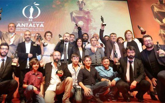 Международный кинофестиваль «Золотой апельсин» в Анталье