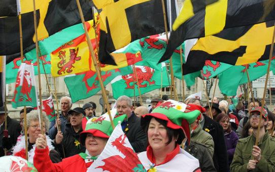 День Святого Дэвида в Уэльсе