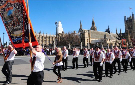 День Святого Георгия в Лондоне