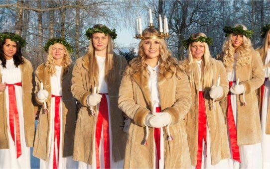 День Святой Люсии в Стокгольме