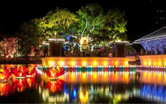 Праздник Весак на Шри-Ланке