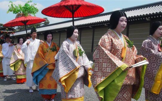 Фестиваль Аой Мацури в Киото