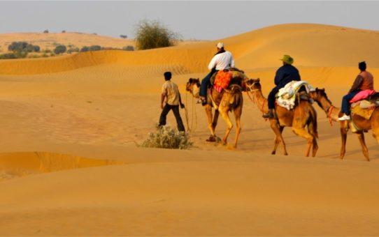 Фестиваль пустыни в Джайсалмере