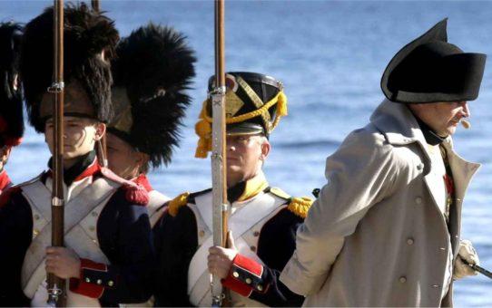 Годовщина высадки Наполеона на пляже Гольф-Жюан