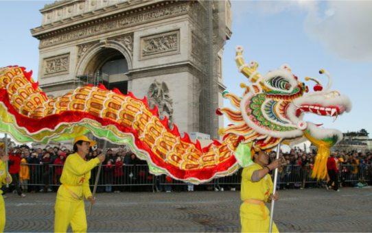 Китайский Новый год в Париже