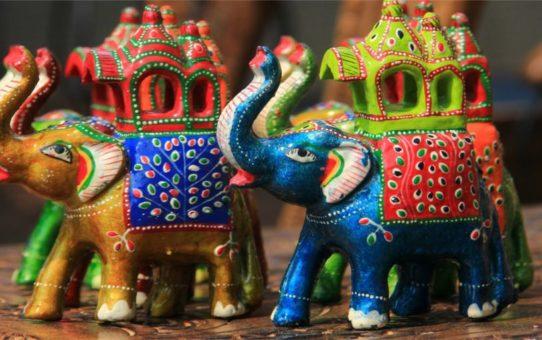 Международная ремесленная ярмарка Сураджкунд Мела в Дели