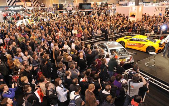 Международная выставка спортивных машин в Бирмингеме