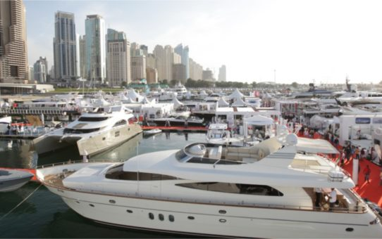 Международная выставка яхт в Дубае