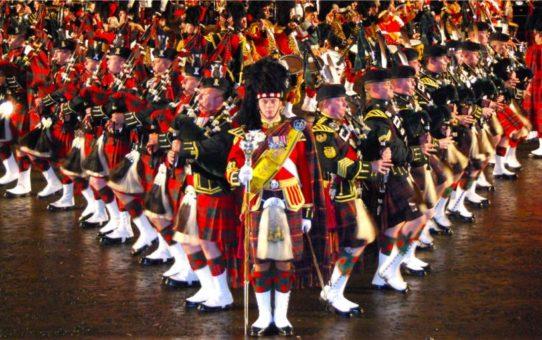 Международный Королевский фестиваль военных оркестров в Эдинбурге