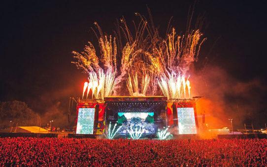 Музыкальный фестиваль VIRGIN FEST в Англии