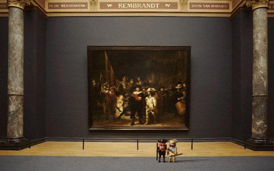 Ночь музеев в Амстердаме