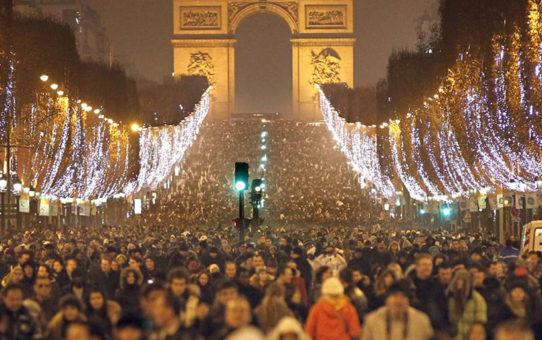 Новогодний Гран-парад в Париже
