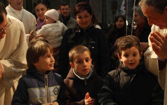 Обряд «Танец детей» в Пьяченце