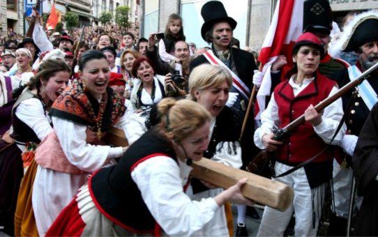 Испанский праздник Реконкисты в Виго