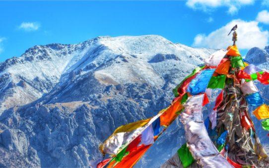 Праздник Сага Дава в Тибете