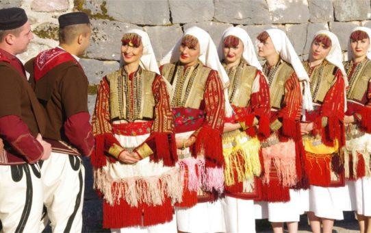 Традиционная свадьба в Галичнике