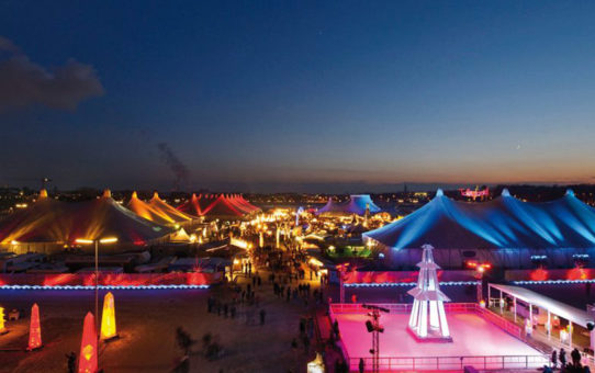 Зимний фестиваль Tollwood в Мюнхене