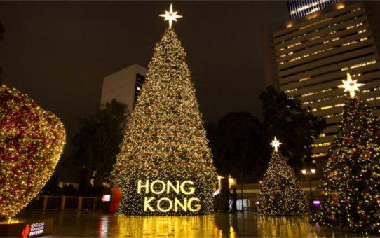 Зимний новогодний фестиваль в Гонконге