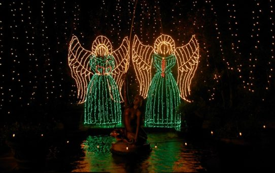 Рождественские огни в Алабаме