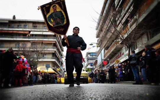 Апокриес или карнавал в Афинах