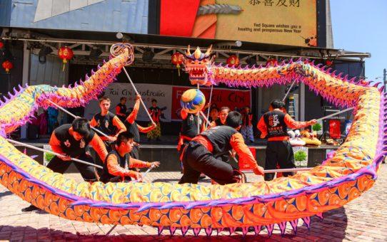 Китайский Новый год в Австралии