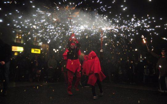 Праздник Святой Евлалии в Барселоне