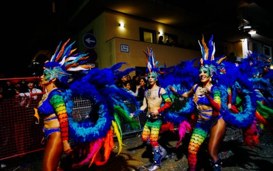 Карнавал Ситжес в Барселоне