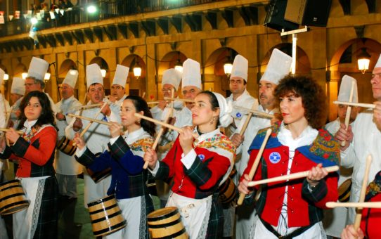 Тамборрада Сан-Себастьян в Стране Басков