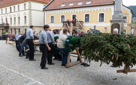 Первомайский фестиваль в Баварии