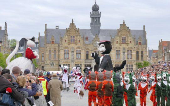 Парад кошек в Бельгии