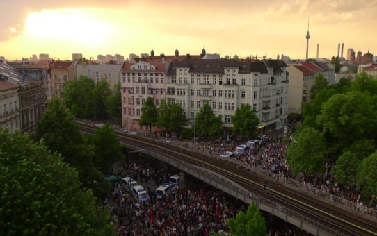 Первомай в Берлине