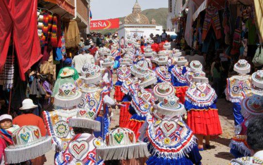 Праздник Девы Канделарии в Боливии
