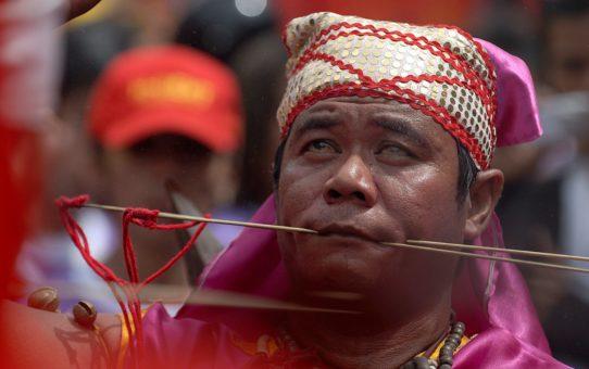 Праздник Cap Go Мех в Борнео