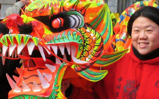 Китайский Новый год в Бостоне