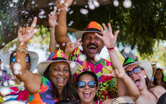 Карнавал в Барранкилье в Колумбии