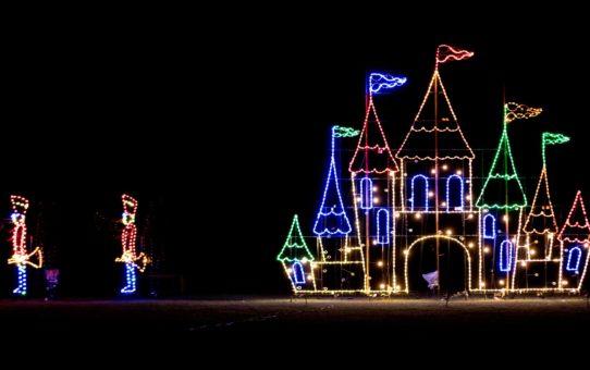 Рождественские огни в Делавэре