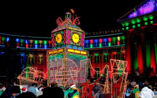 Рождественские огни в Денвере