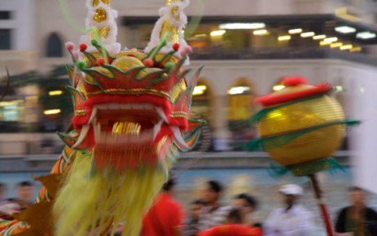 Китайский Новый год в Дубае