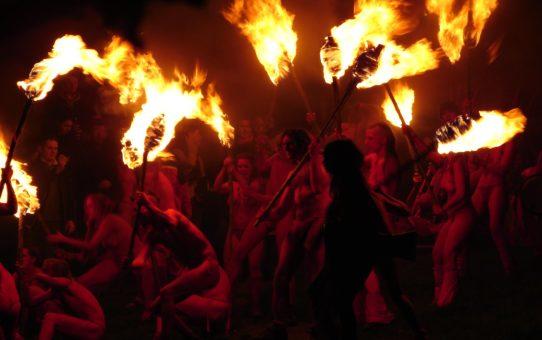 Фестиваль Огня в Эдинбурге