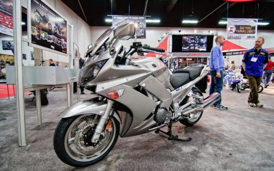 Мотоциклетное шоу в Эдмонтоне