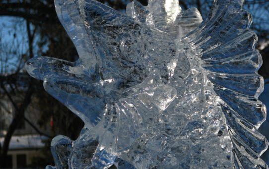 Ледяной фестиваль Boardwalk Ice On Whyte в Эдмонтоне